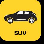 SUVの車種別維持費データにリンクするアイコン